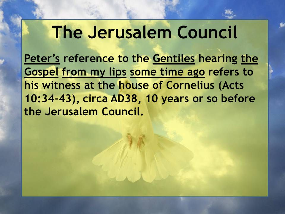 The Jerusalem Council