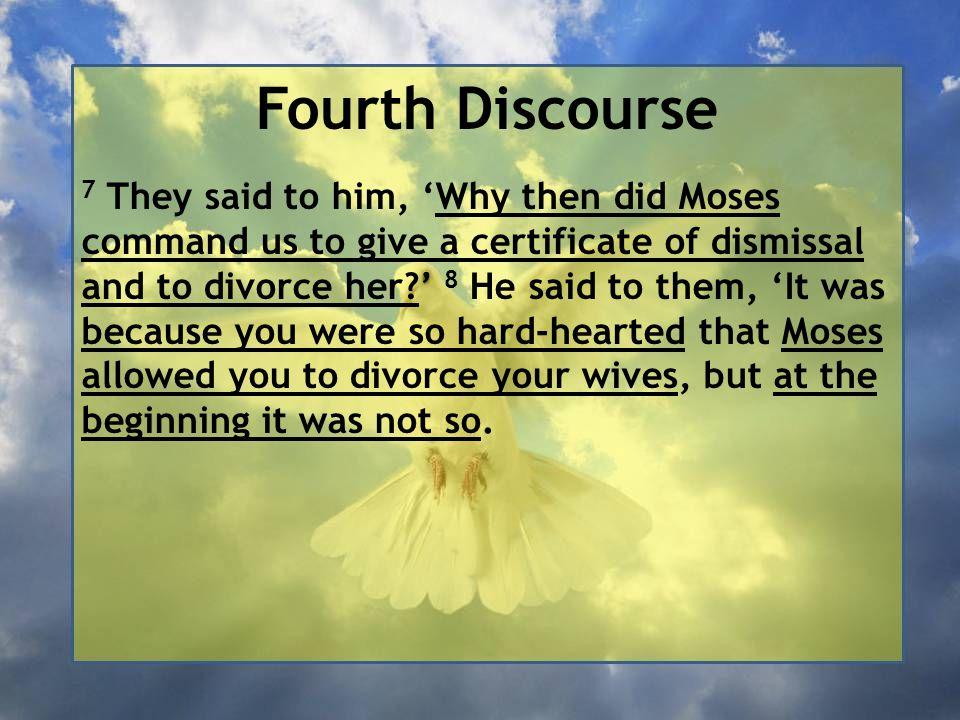 Fourth Discourse