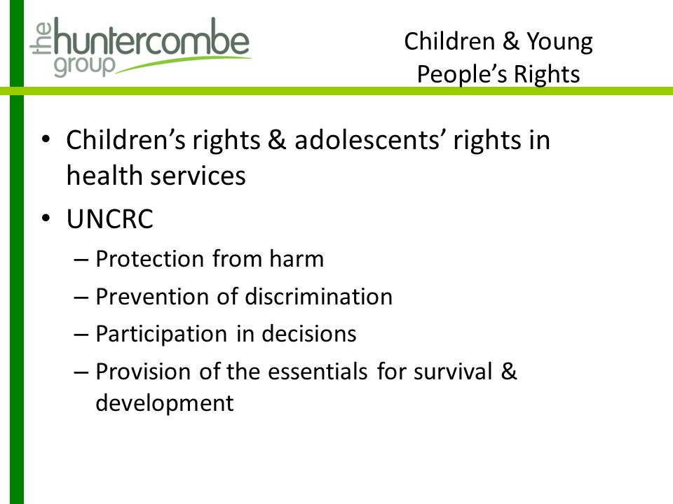 Children & Young People's Rights