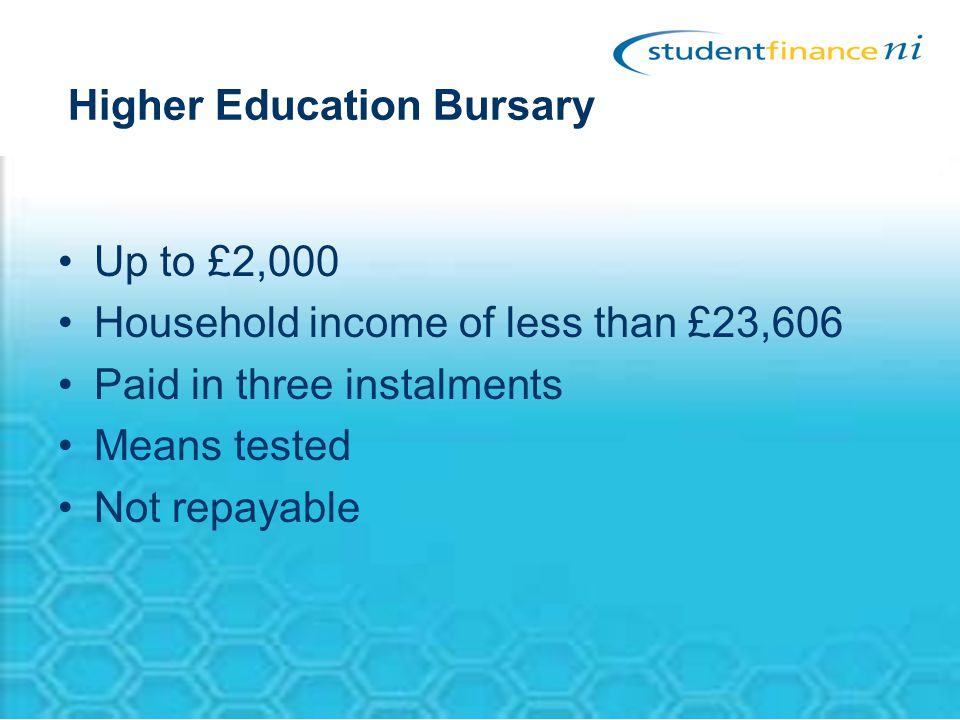 Higher Education Bursary