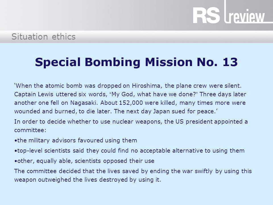 Special Bombing Mission No. 13