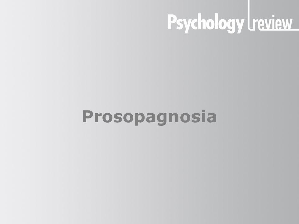 essay on prosopagnosia Prosopagnosia (sometimes known as face blindness) is a rare disorder of face perception where the ability to recognize faces is impaired, although the ability to recognize objects may be relatively intact.