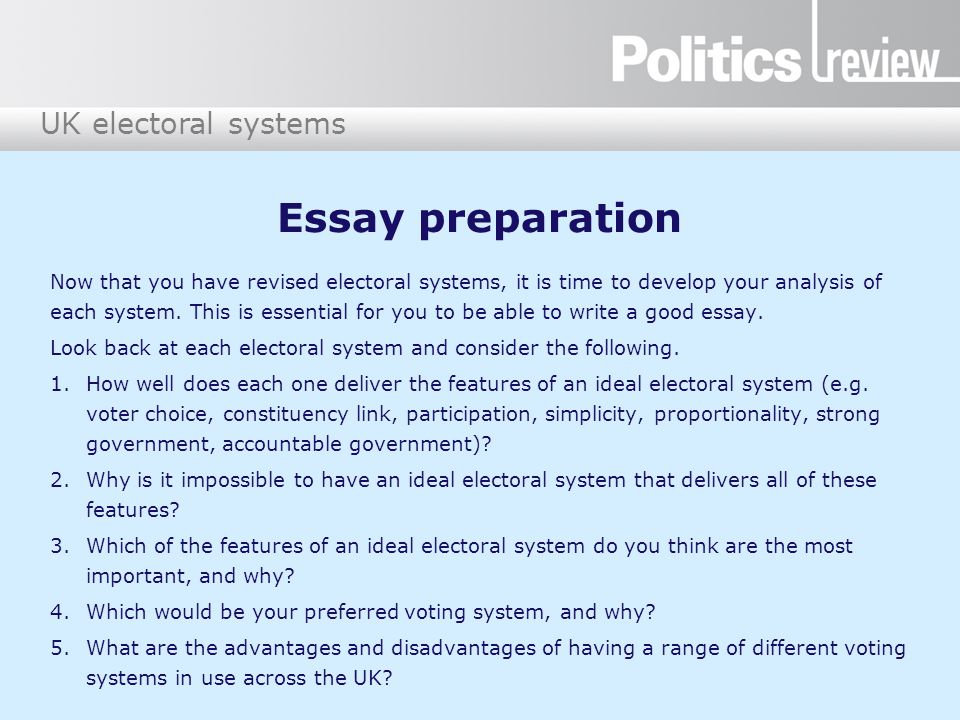 Democracy and the British Voting System Essay