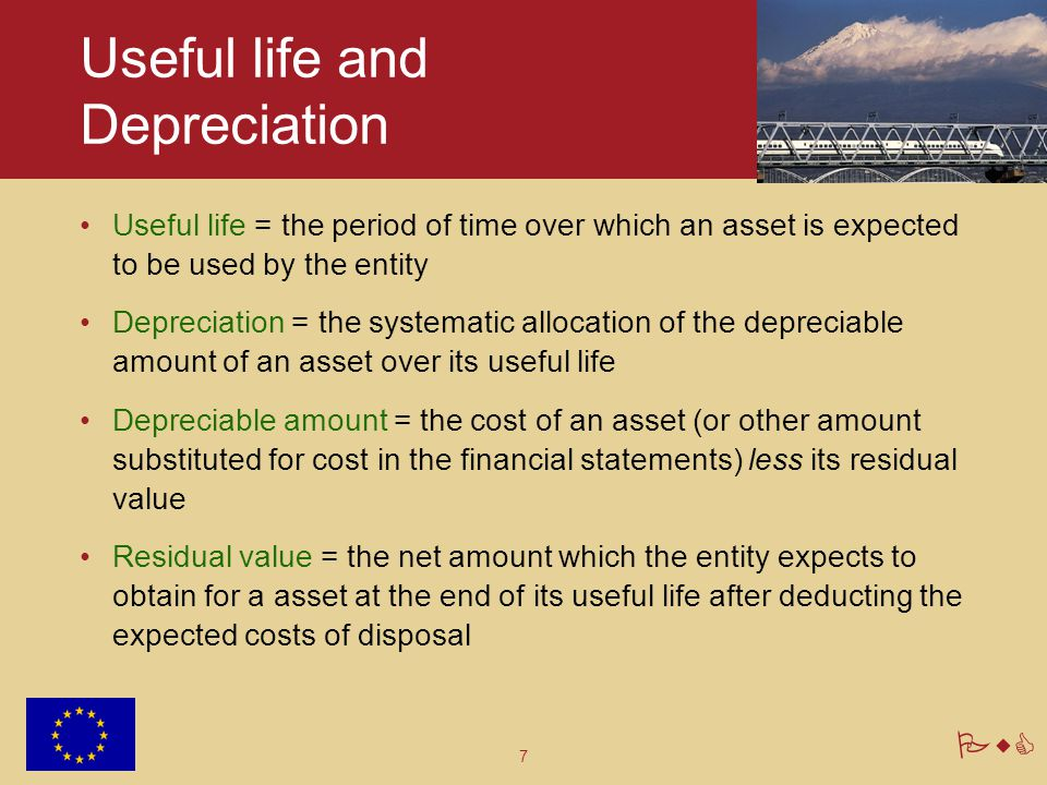 Useful life and Depreciation