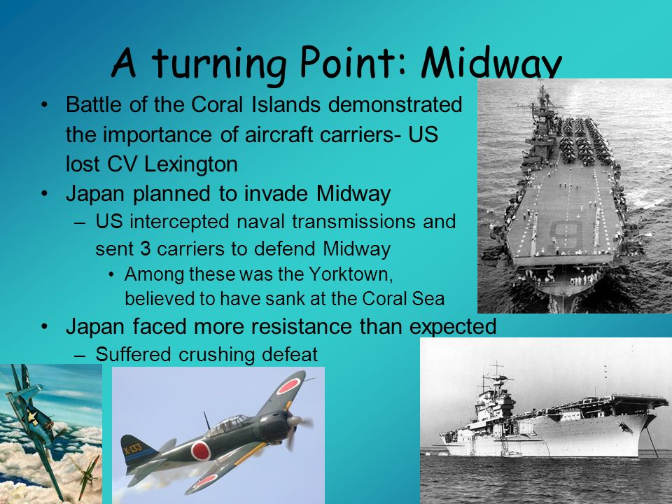 A turning Point: Midway