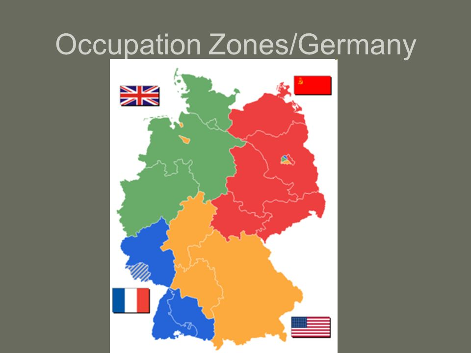 Occupation Zones/Germany