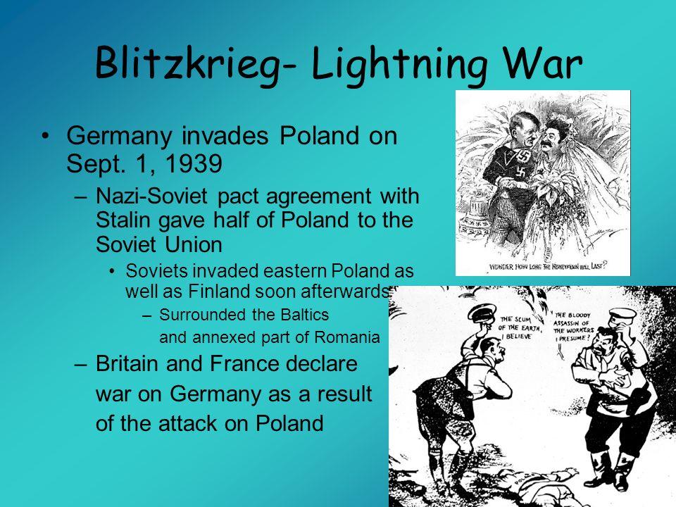 Blitzkrieg- Lightning War