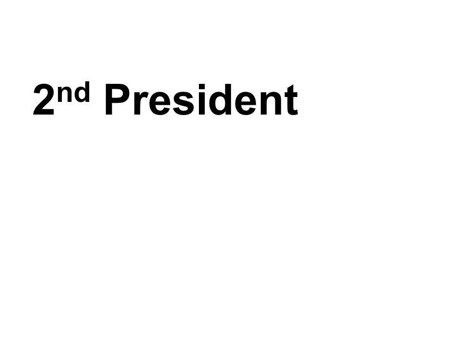 2nd President