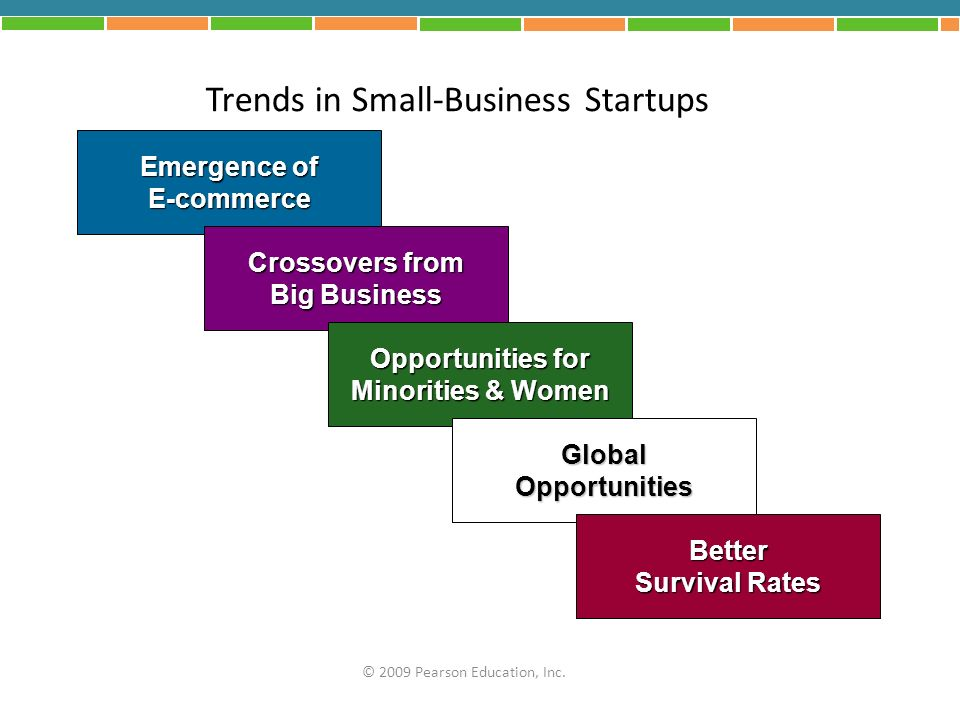 Trends in Small-Business Startups