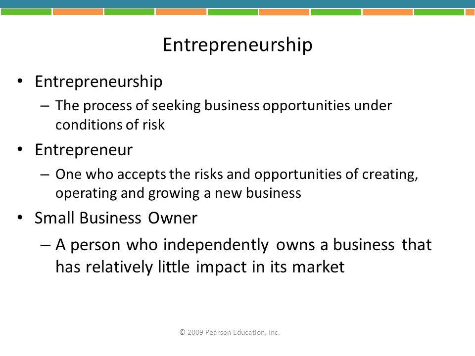 Entrepreneurship Entrepreneurship Entrepreneur Small Business Owner