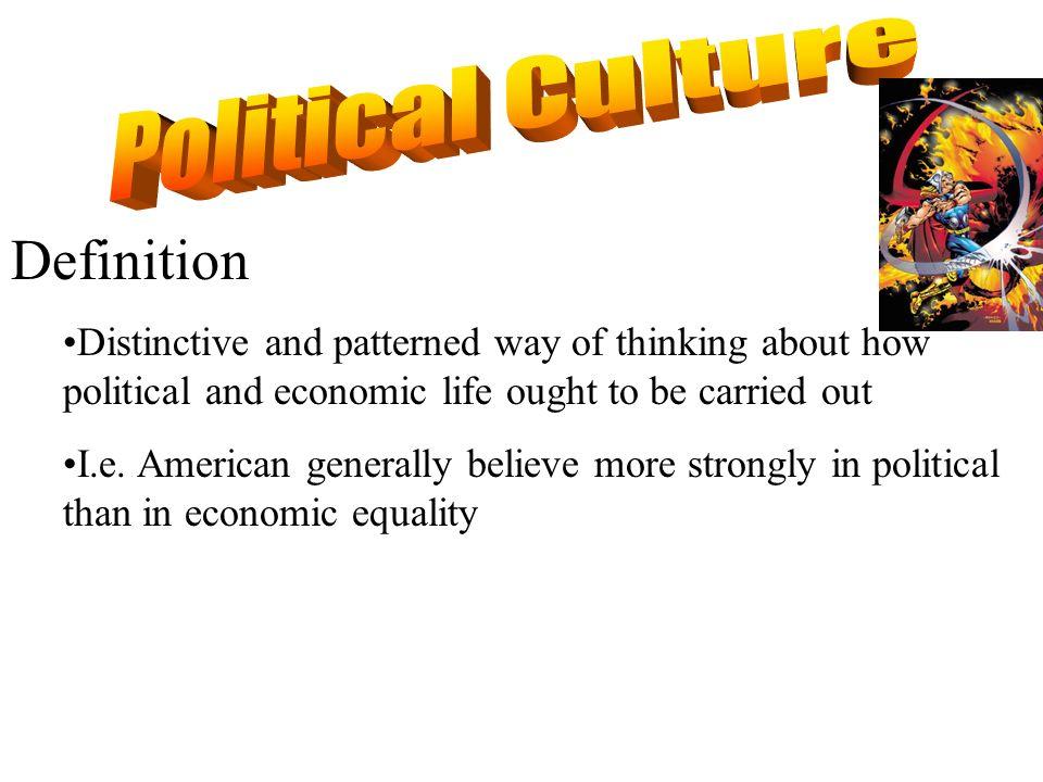 Political Culture Definition
