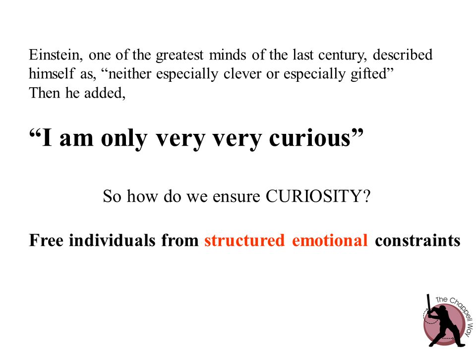 I am only very very curious