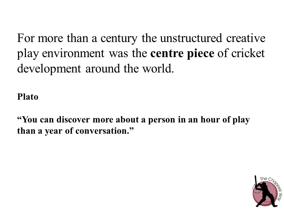 For more than a century the unstructured creative