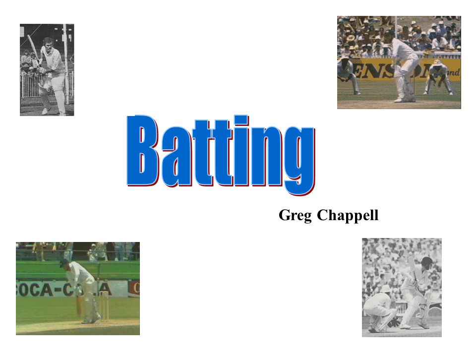 Batting Greg Chappell