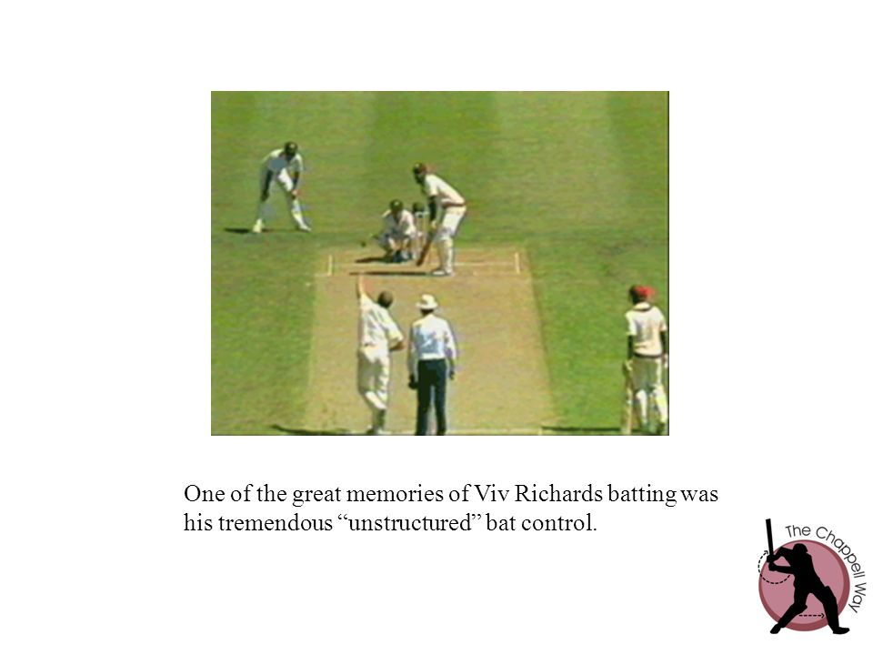 One of the great memories of Viv Richards batting was