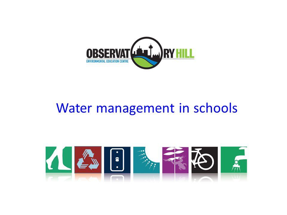 Water management in schools