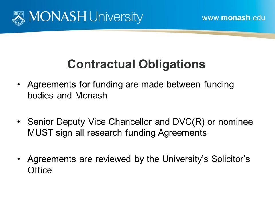 Contractual Obligations