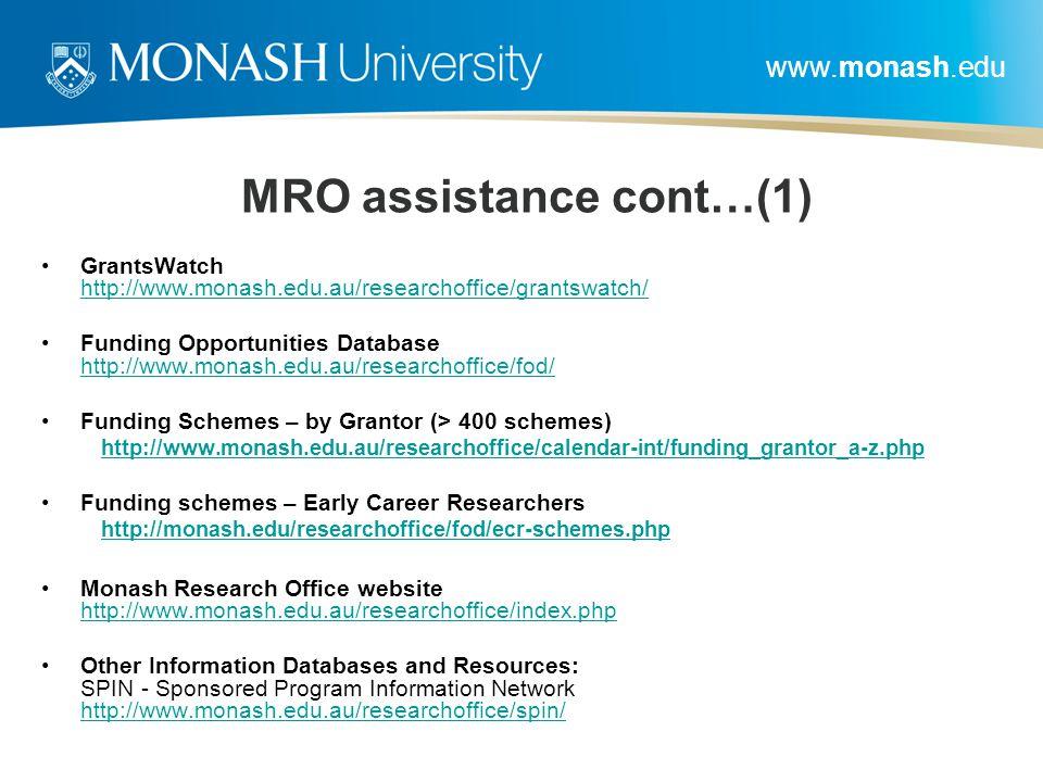 MRO assistance cont…(1)