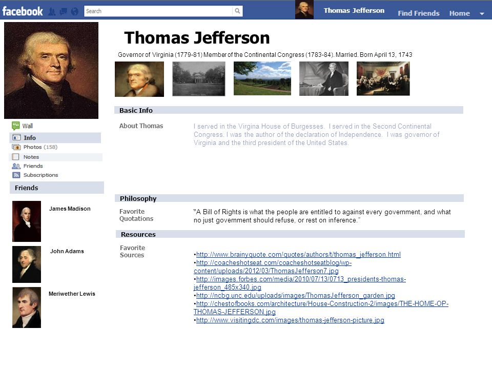 Thomas Jefferson Thomas Jefferson Claude Monet