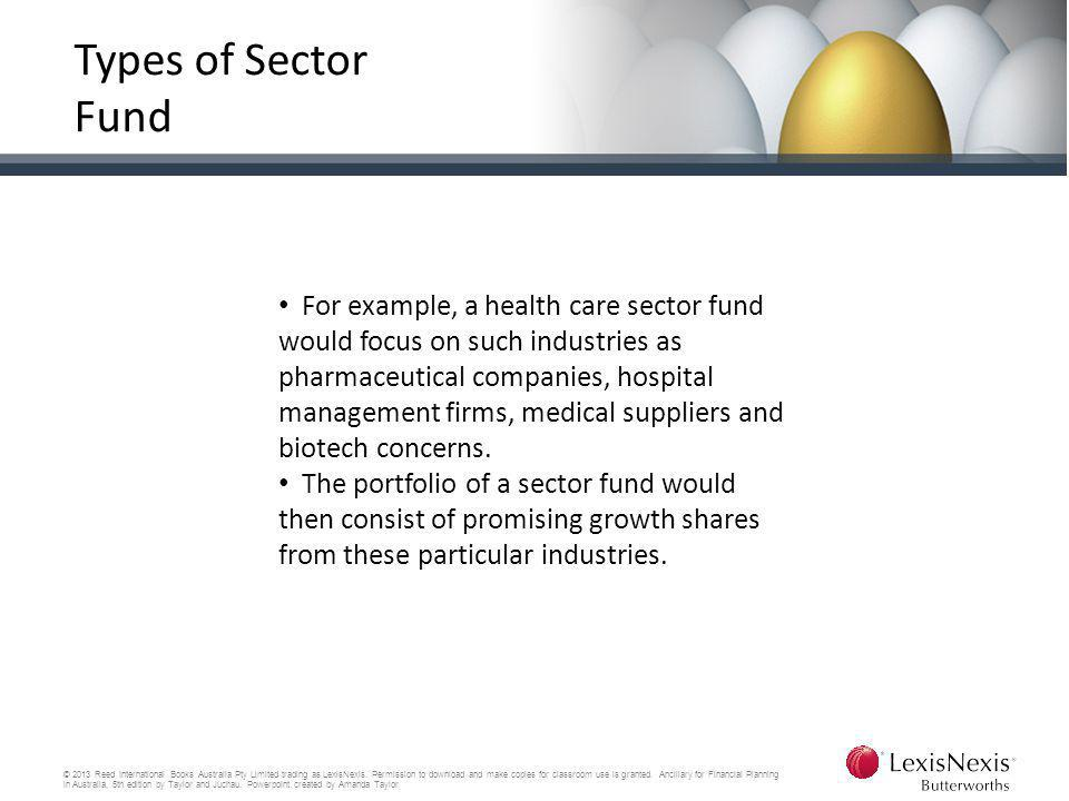 Types of Sector Fund