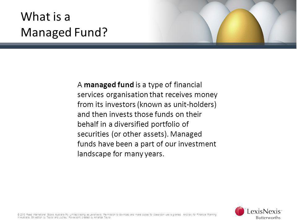 What is a Managed Fund