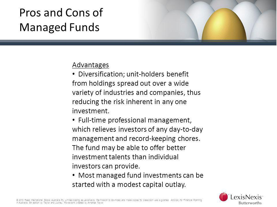 Pros and Cons of Managed Funds