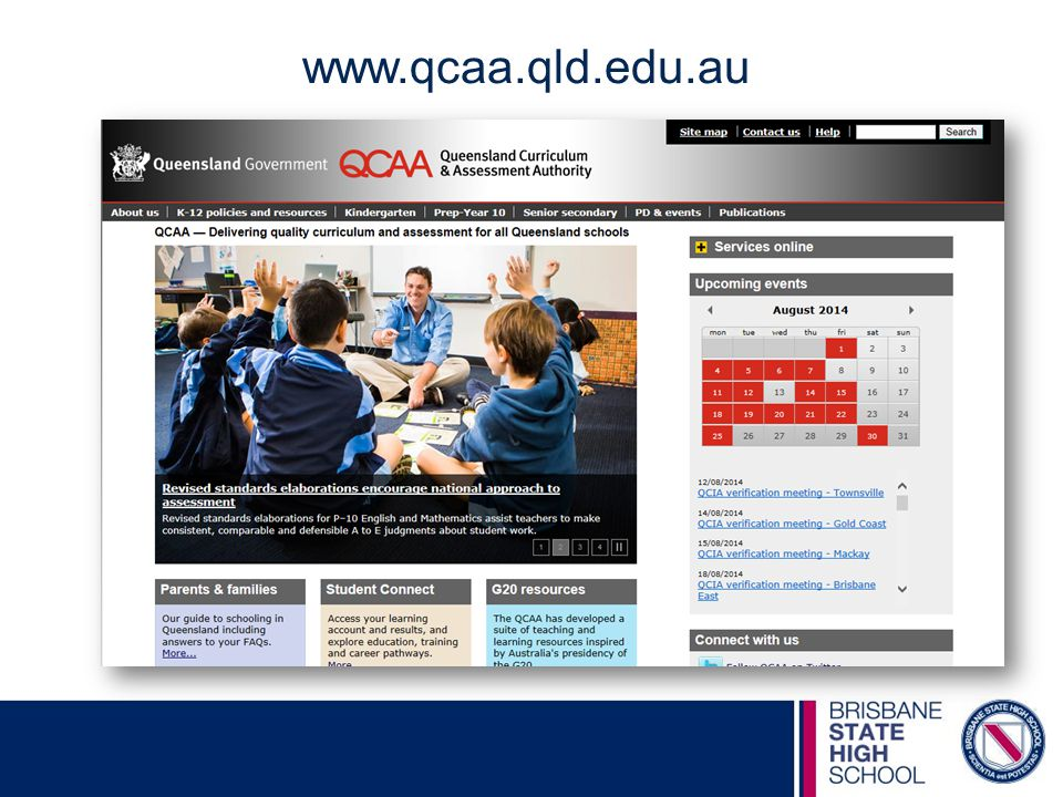 www.qcaa.qld.edu.au For further information, visit the QCAA website