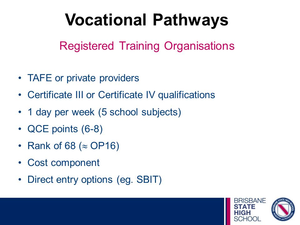 Registered Training Organisations