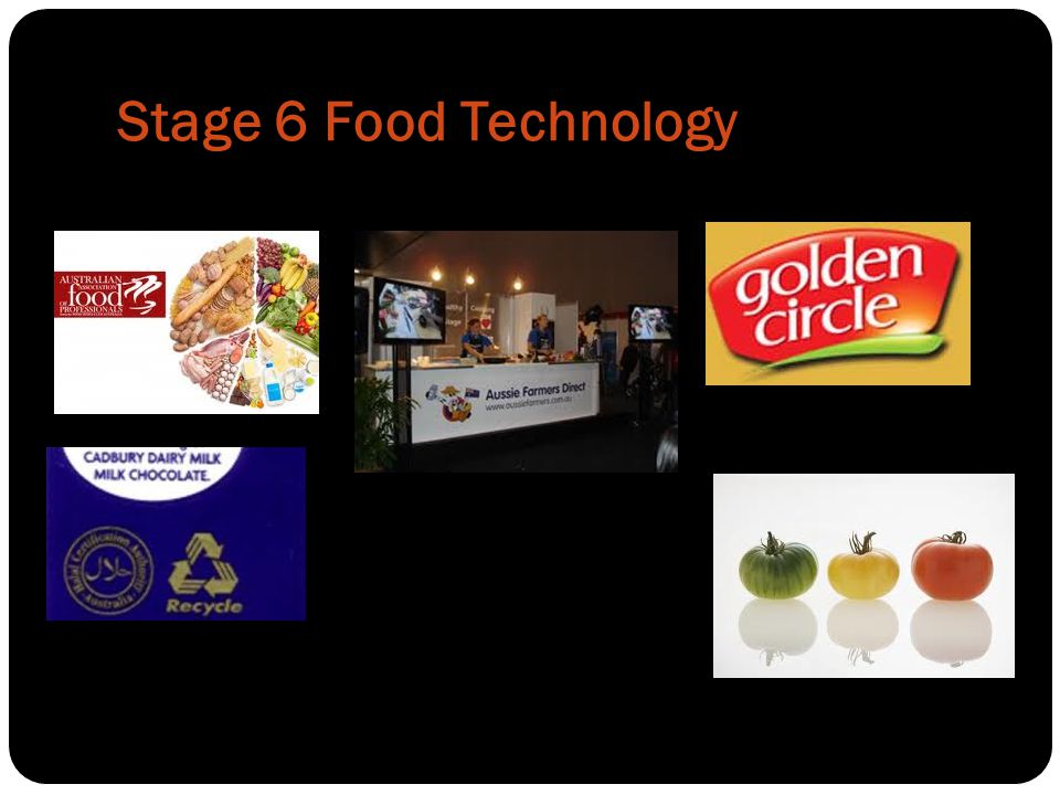 Stage 6 Food Technology