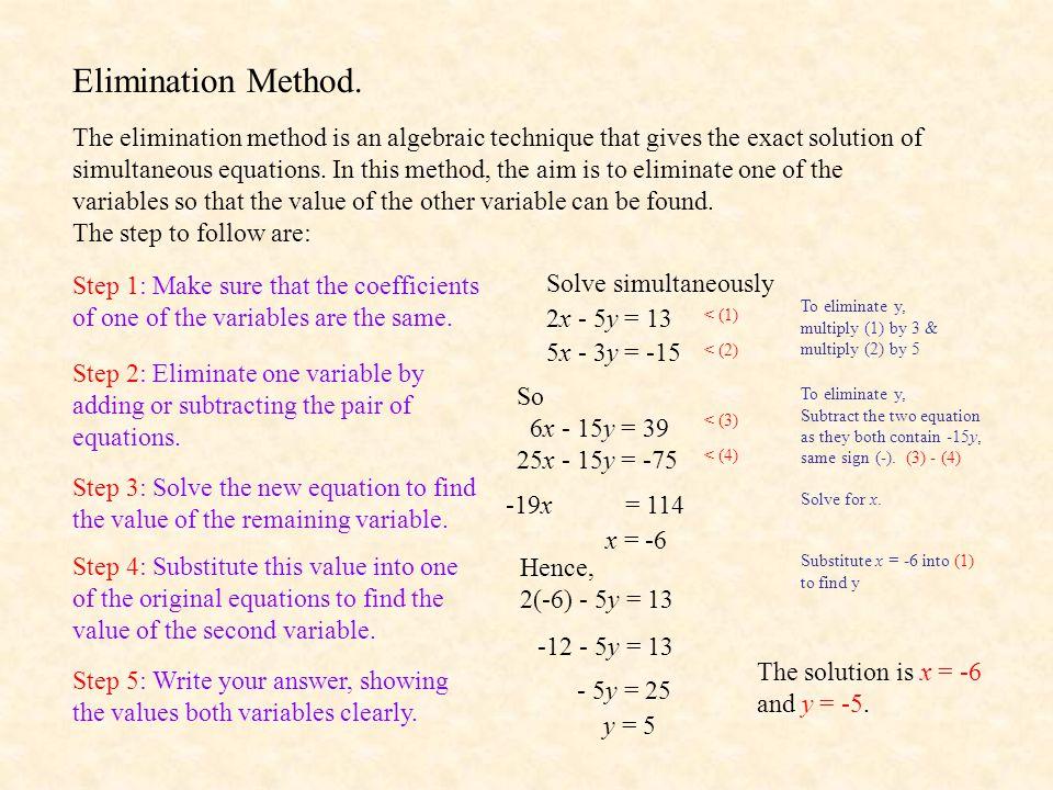 Simultaneous equations worksheets pdf