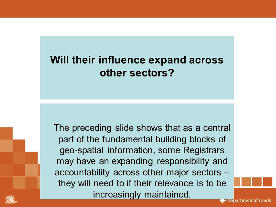 Will their influence expand across other sectors