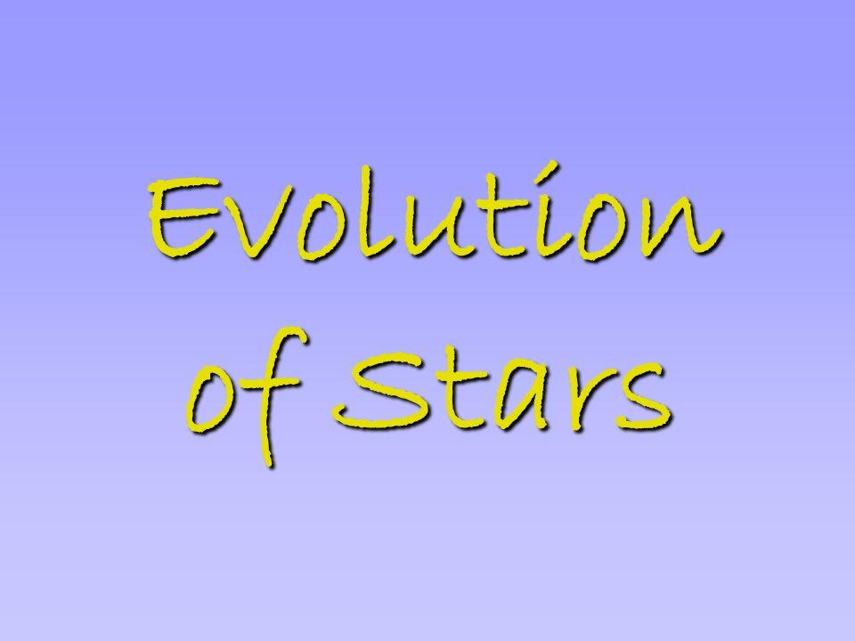 Evolution of Stars