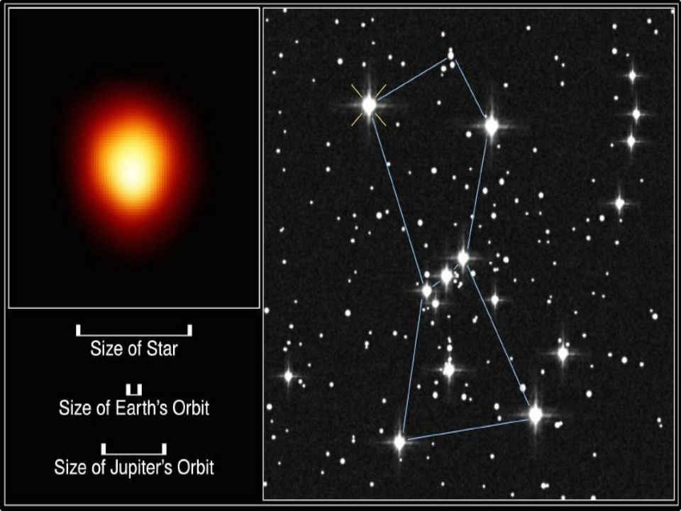 Betelgeuse – red supergiant