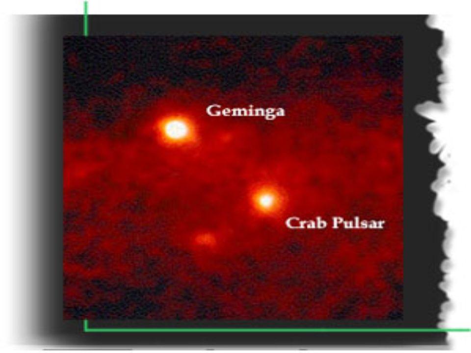 2 X-ray pulsars, Geminga and Crab Pulsar