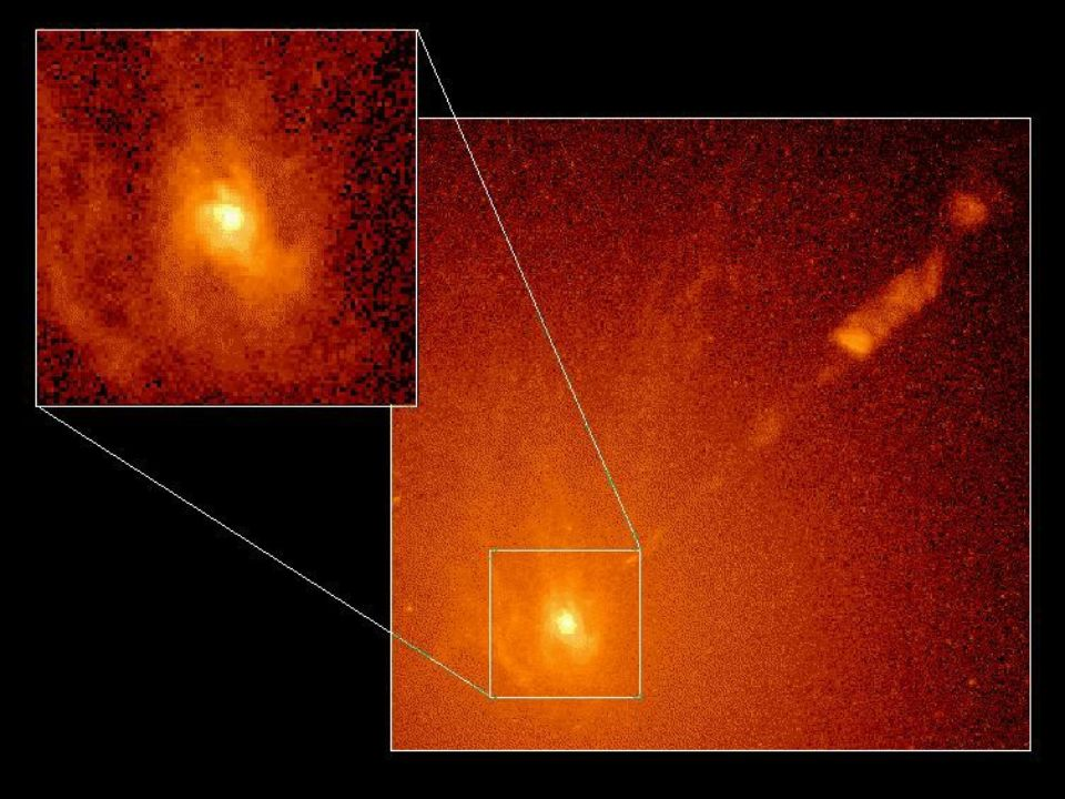 Black hole candidate in M87