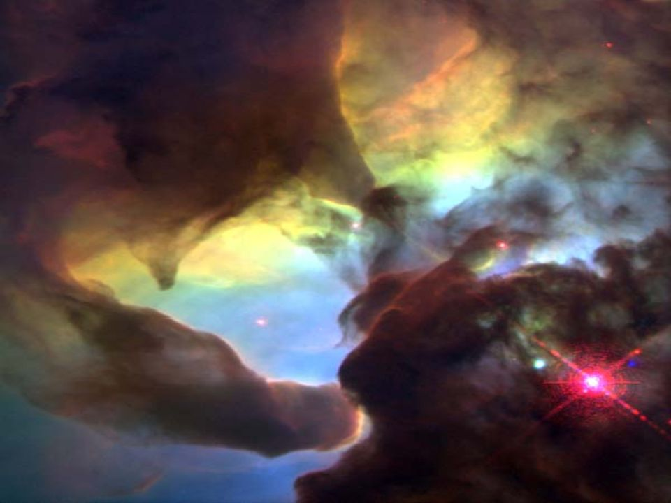 ½ light year long twisters in Lagoon Nebula M8 in Sagittarius