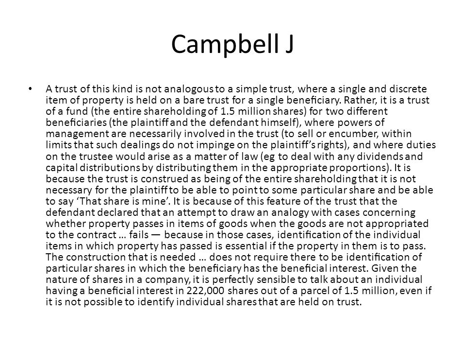 Campbell J