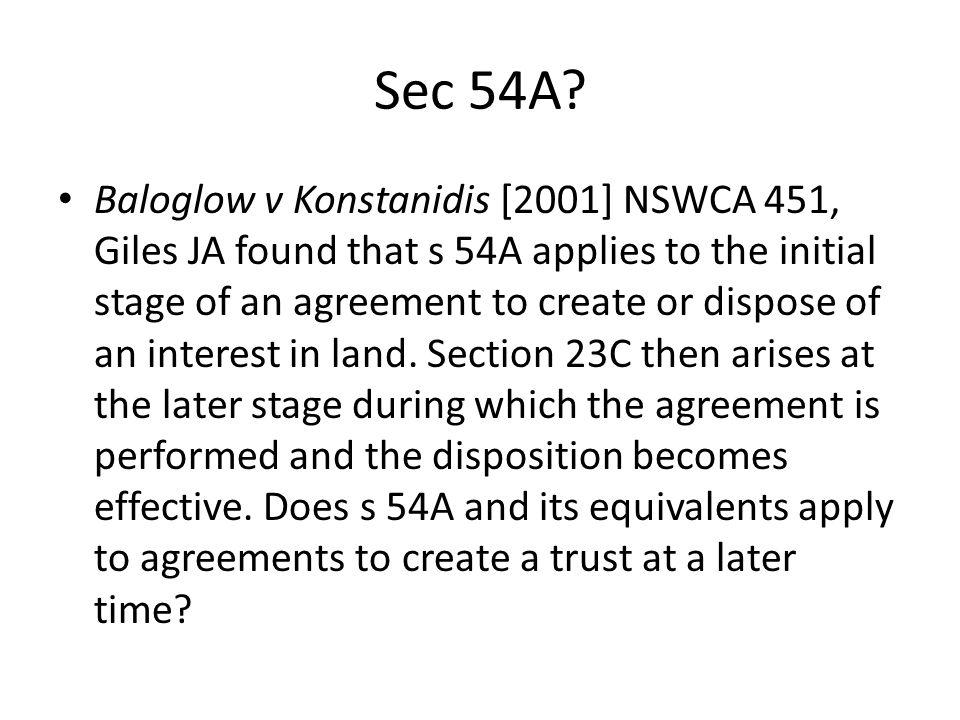 Sec 54A
