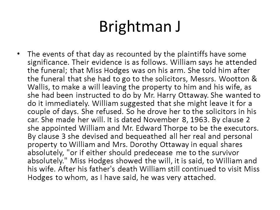 Brightman J