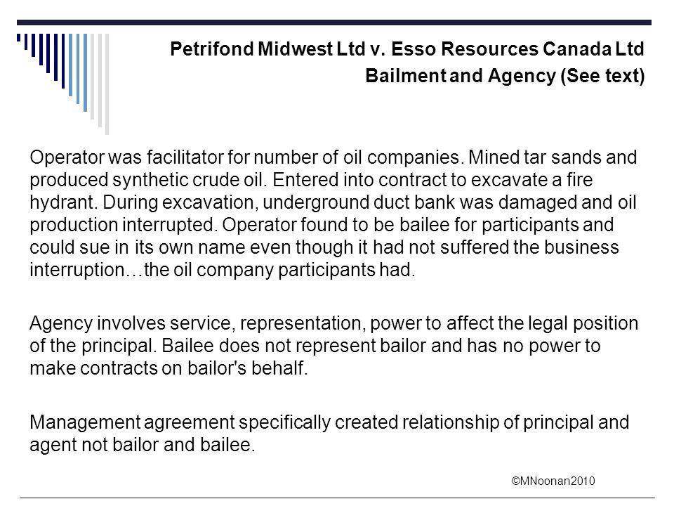 Petrifond Midwest Ltd v. Esso Resources Canada Ltd