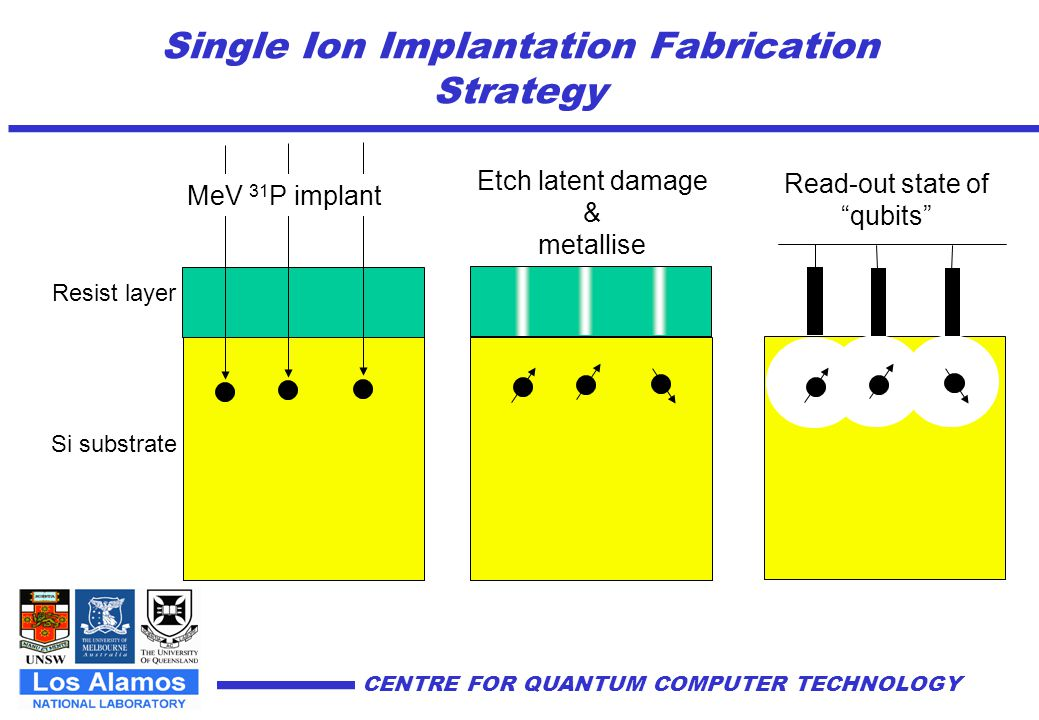 Single Ion Implantation Fabrication Strategy