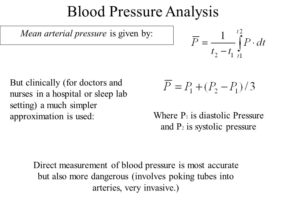 Mean arterial pressure is given by: