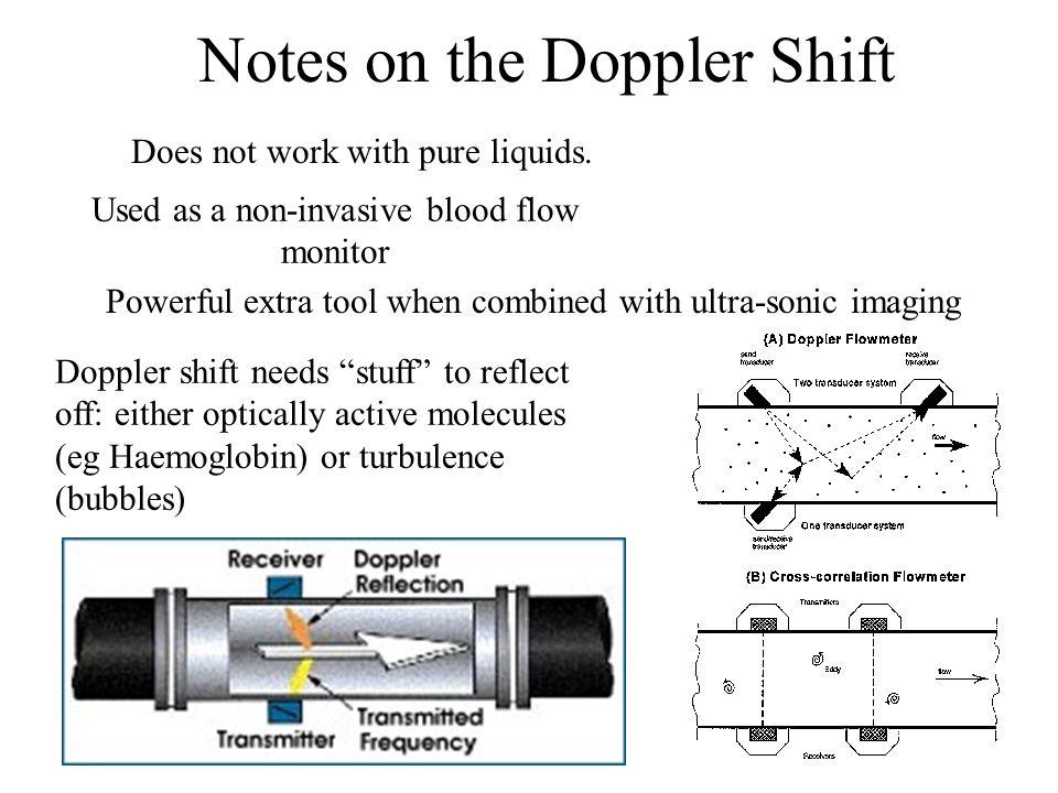 Notes on the Doppler Shift