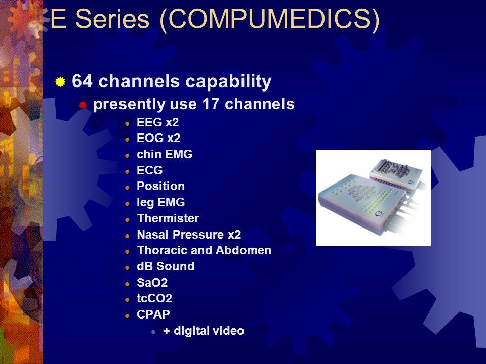 E Series (COMPUMEDICS)