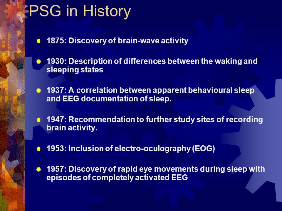 PSG in History 1875: Discovery of brain-wave activity