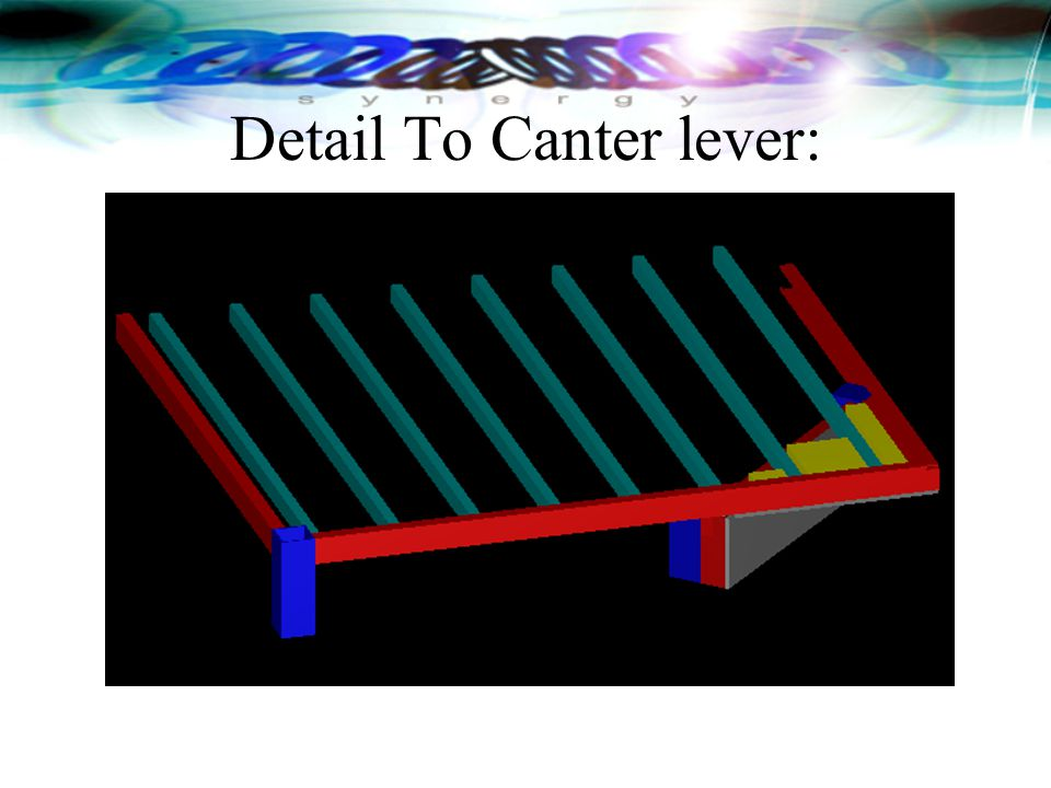 Detail To Canter lever: