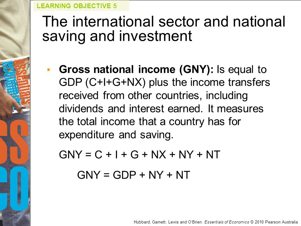 The international sector and national saving and investment