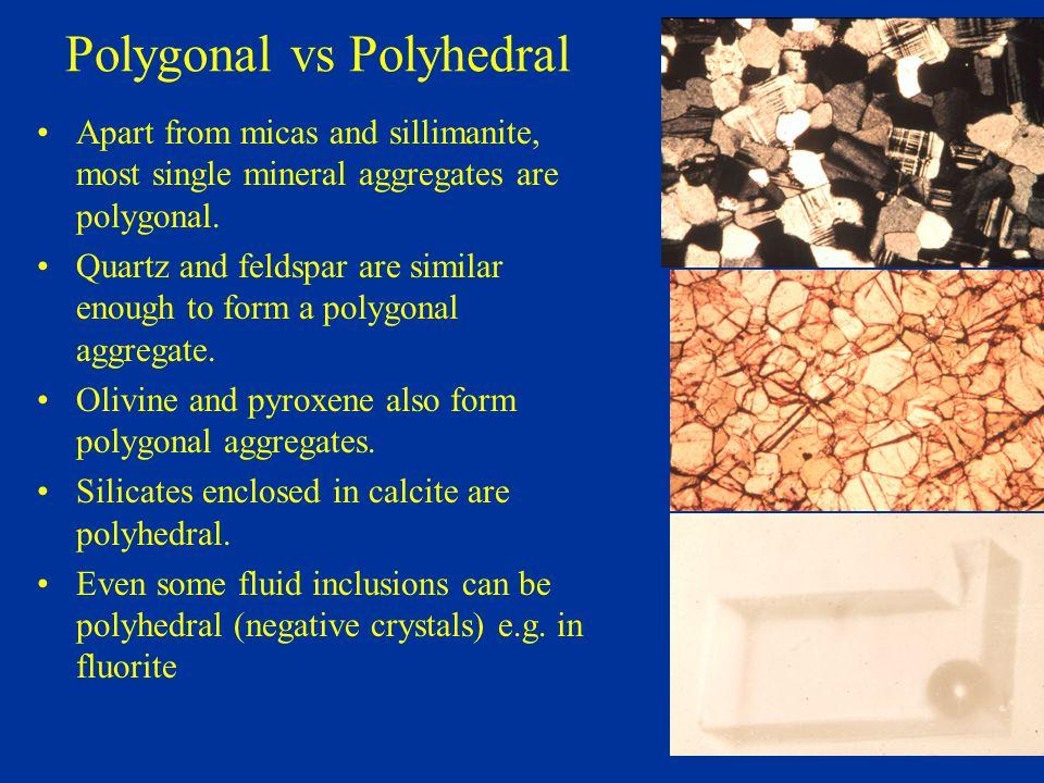 Polygonal vs Polyhedral