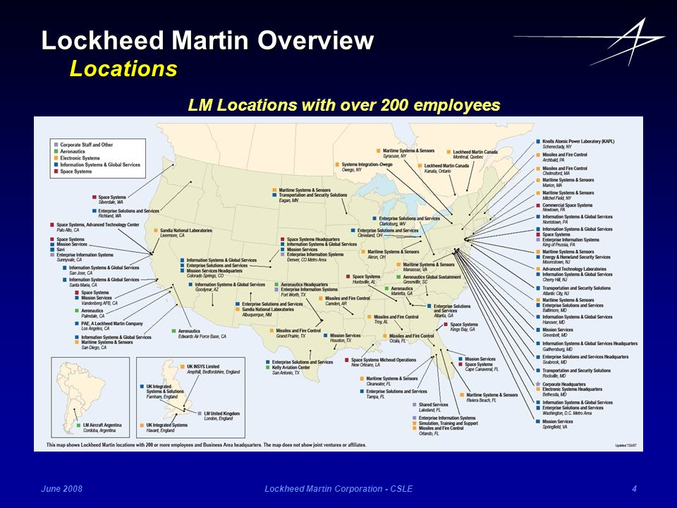 Lockheed Martin Overview