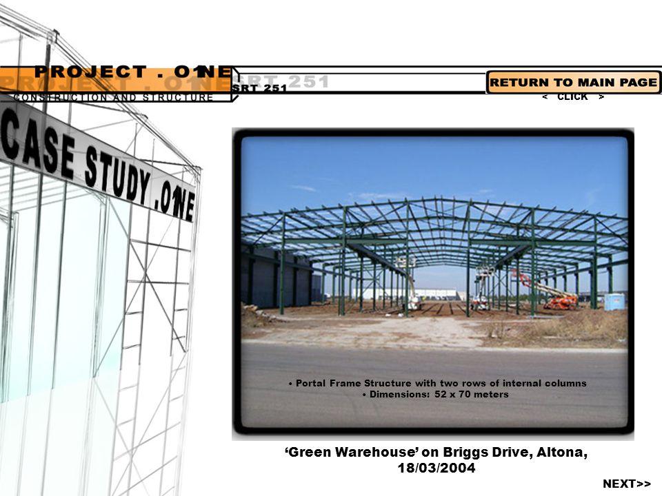 'Green Warehouse' on Briggs Drive, Altona,
